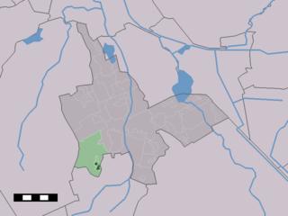 Zeijen Place in Drenthe, Netherlands