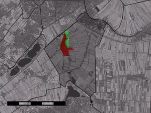 Zoeterwoude-Dorp - Image: Map NL Zoeterwoude Zoeterwoude Dorp