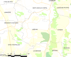 Map commune FR insee code 32172.png
