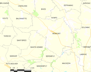 Monfort - Monfort and its surrounding communes