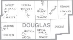 Map of Douglas County Illinois.png