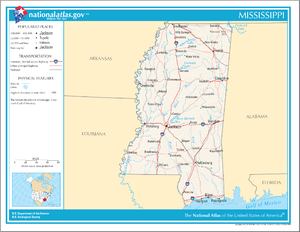 Mississippi Wikipedia - Maps mississippi
