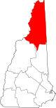 Map of New Hampshire highlighting Coos County.svg