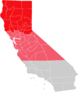 Map of Northern and Upstate California.png