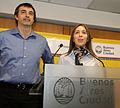 María Eugenia Vidal y Esteban Bullrich en conferencia de prensa luego de la reunión de gabinete (7304145584).jpg