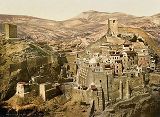 Somewhere in the Holy Land, around 1885, via Wikimedia.