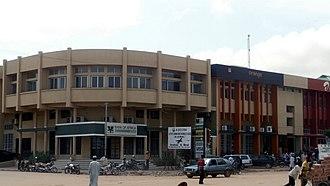 Maradi, Niger - A street in Maradi