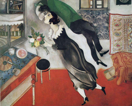 Marc Chagall The Birthday 1915.png