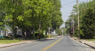 Town in Maryland, United States