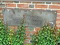 Margaret C. Ferguson Greenhouses plaque - Wellesley College - DSC09711.JPG