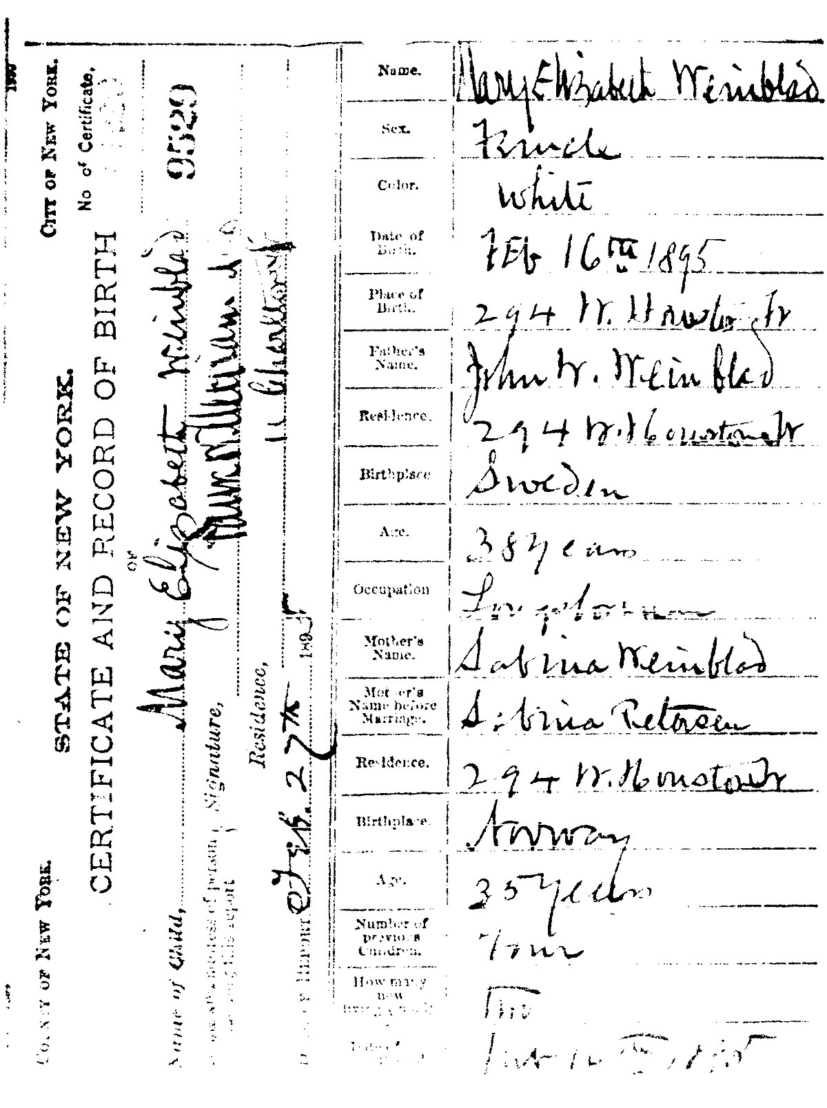 Birth Certificate Wikipedia