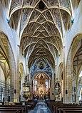 Interior of the parish- and pilgrimage church of the Assumption of Mary at Maria Saal, Carinthia, Austria