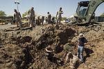 Marines recover, clean debris from Harrier crash in California 140609-M-HL954-003.jpg