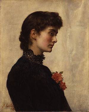 John Collier (painter) - Collier's first wife, Marian Huxley, 1883