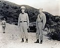 Mark W. Clark and Robert O. Bare in Korea, July 1952.jpg