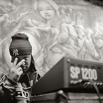 Golden age hip hop - Marley Marl in Nottingham, England in 1999.