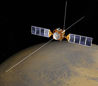 Beagle 2 - Beagle 2 launched with Mars Express and was released a few days prior to its landing near Mars after a multi-month long journey from Earth. Mars Express entered Mars orbit and has remained active ever since (as of 2016)