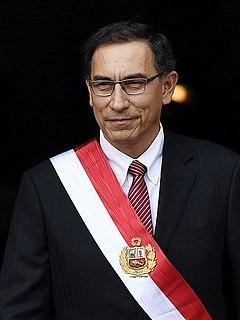 Martín Vizcarra Former Peruvian president