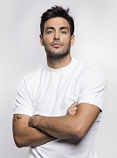 Kostas Martakis Greek singer, model, TV host and actor