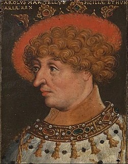 Charles Martel of Anjou Titular King of Hungary