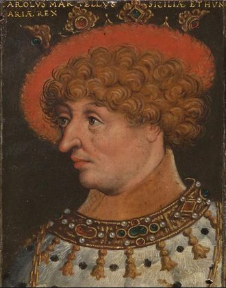 Charles Martel of Anjou - Charles Martel of Anjou by Anton Boys