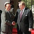 Martti Ahtisaari with Carlos Menem.jpg