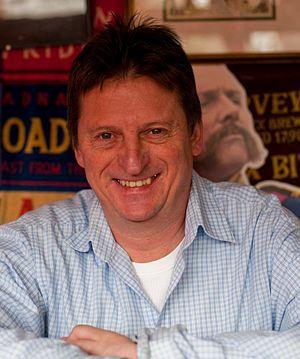 Micropub - Martyn Hillier of the Micropub Association