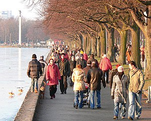 Preferred walking speed - Pedestrians walking at their preferred speeds