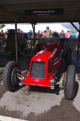 Maserati 6C-34 at Goodwood Revival 2012.jpg