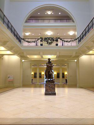 Mason School of Business - Front Interior Entrance
