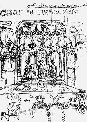 Craii de Curtea-Veche - Mateiu Caragiale's illustration to Craii de Curtea-Veche