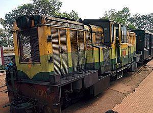 Matheran Hill Railway - A NDM1A diesel locomotive