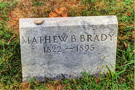 Mathew Brady%27s grave