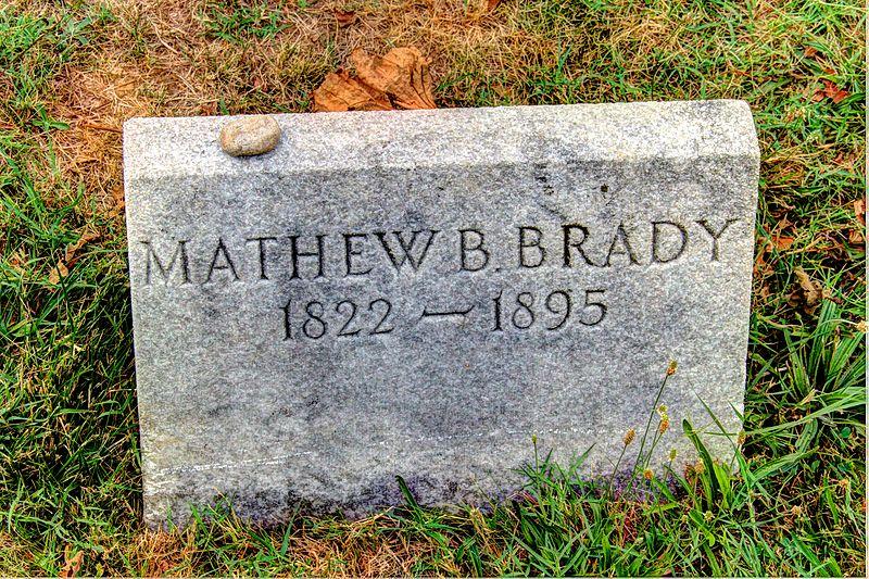 File:Mathew Brady's grave.jpg