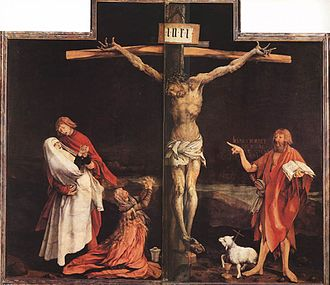 The Body of the Dead Christ in the Tomb - Centerpiece of Matthias Grünewald's Isenheim Altarpiece