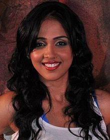 Mauli Dave at Khatron Ke Khiladi 2011 Press Conference.jpg