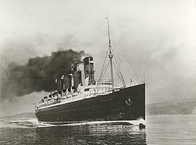 Image illustrative de l'article RMS Mauretania (1906)