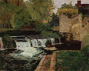 Maurice Cullen (artist) - Image: Maurice Cullen The Mill Stream