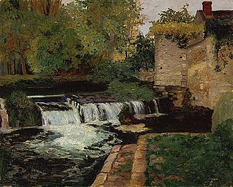 Maurice Cullen (artist) - Image: Maurice Cullen The Mill Stream