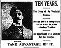 Max Mac Levy in the New York Sun in 1905.jpg