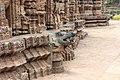 Mayadevi Temple, Konârak 14 - Crocodile.jpg