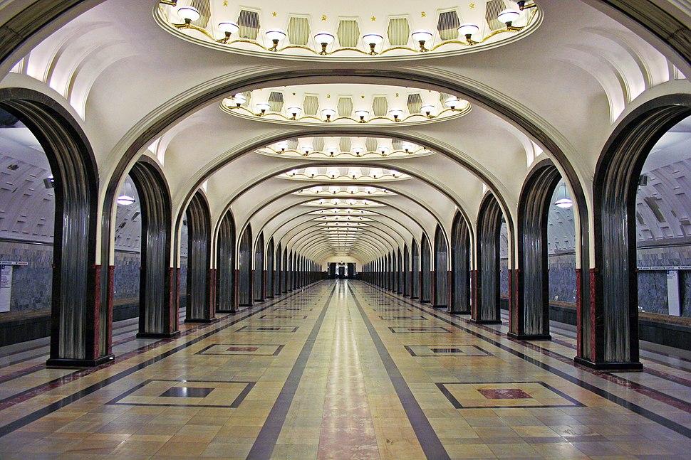 Mayakovskaya after renewing 2010