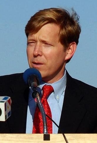 John Peyton (U.S. politician) - John Peyton speaking during a groundbreaking ceremony in 2007