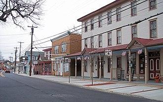 Mays Landing, New Jersey - Main Street in Mays Landing in 2006