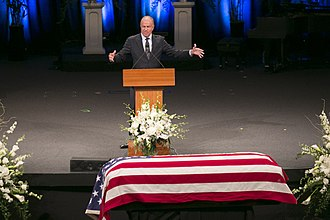 Grant Woods - Woods pays tribute to John McCain.