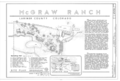 McGraw Ranch, McGraw Ranch Road, Estes Park, Larimer County, CO HABS CO-175 (sheet 1 of 2).png