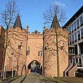Medieval Tower gate building, Sabelspoort Arnhem - panoramio.jpg
