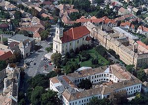 Szekszárd - Aerial view