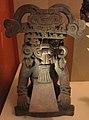 Messico, zapotec, urna ceramica con ritratto di cocijo, dallo stato di oxaca, 200-800 dc ca. 01.jpg
