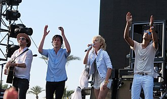 Metric (band) - Metric live at Coachella in April 2013